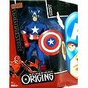 Spider-Man Origins: Marvel Signature Series > Captain America Large Doll