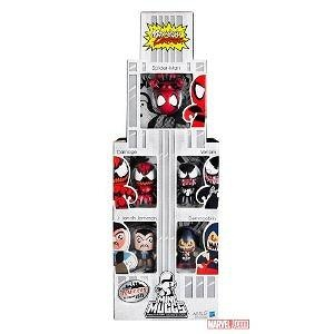 Marvel SpiderMan Mini Muggs New York Comic Con 2011 Exclusive 5Pack Set Maximum Carnage