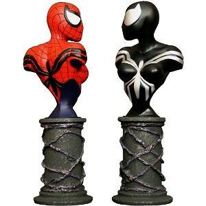 Spider-Girl Mini-Busts 2-Pack