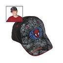 SPIDERMAN BRUSHED TWILL BASEBALL CAP (3 PIECES)