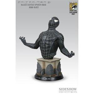 Spiderman (Black Suit) Bust From Spiderman 3