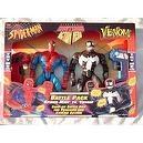 Bigtime Action Hero Spider Man & Venom Battle Pack