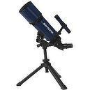 Blue TwinStar AstroMark 80mm 16-40x Portable Refractor Telescope Kids Pak Bundle