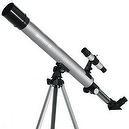 Silver TwinStar AstroMark 50mm 75x Refractor Telescope Kids Pak Bundle