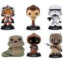 Funko POP Star Wars Series 3 Bobble Head Vinyl Figures Set of 6