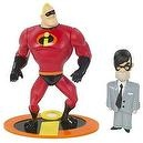 Incredibles Super Strength Mr. Incredible with Mr. Humph Figures