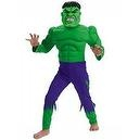 Hulk Muscle Costume - Child Costume deluxe - Medium (7-10)  Hulk Muscle Costume - Child Costume deluxe