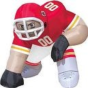 Kansas City Chiefs Bubba Inflatable Lawn Decoration