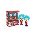 Dr. Suess Cat in the Hat Thing 1 & Thing 2 Bobble Head
