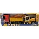 "Bruder Mercedes Truck and Trailer with Back Hoe. Special Edition 1:16 Scale. Just Like the Real Thing "" Stirdy Indoor and Outdo"