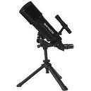 Black TwinStar AstroMark 80mm 16-40x Power Portable Refractor Telescope
