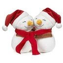 Snuggling Snowmen - Holiday Hugs Collection - 6""