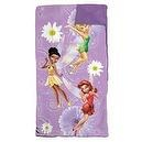 Disney Fairies Slumber Sleeping Bag Duffle Bag and Flashlight Tinker Bell Fairies
