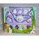 Disney TinkerBell &Fairies Tea Set,12 Pc.Porcelain,TinkerBell Cameo on Teapot,8+