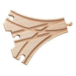 wooden 3 way switch track adapter connector fits thomas train track