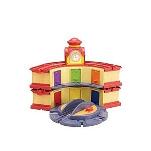 Chuggington Wooden Railway Double-Decker Roundhouse