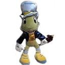 "Disney Pinocchio 25"" Jumbo Huge Jiminy Cricket Plush Doll Toy"