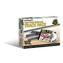 Bachmann Trains Snap-Fit E-Z Track Nickel Silver Worlds  Greatest Hobby First Railroad Track Pack