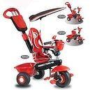 Smart Trike Deluxe 3 In 1 Red Black  Smart Trike DX 3-In-1 Kids Tricycle