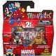 Marvel Minimates Series 42 Mini Figure 2Pack Eric Masterson as Thor Kronan Stone Man Variant