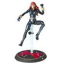 2004 - Toy Biz - Marvel - Series VIII - Marvel Legends - Black Widow Action Figure - With Daredevil Comic Book & Exclusive Trad