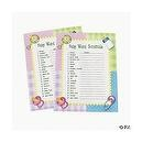 """Baby Word Scramble"" Baby Shower Game ~ 24 sheets"