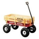 Radio Flyer All-Terrain Steel and Wood Wagon  Radio Flyer 32S All-Terrain Steel and Wood Wagon