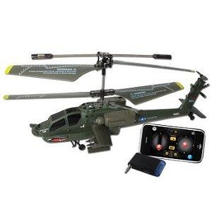 iPhone Controlled Syma S109G Apache AH-64 3-Channels Mini Indoor iCopter