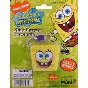 SpongeBob Squarepants Slide Puzzle Keychain