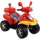 EZ Riders Battery-Powered 360 4-Wheeler, Red/Yellow