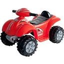 Lil Rider Battery-Powered Red Raptor 4-Wheeler, Red