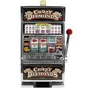 RecZone Crazy Diamonds Slot Machine Bank with 100 Tokens