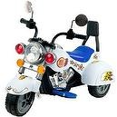 Lil Rider White Knight 3-Wheeler Motorcycle, White