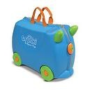 Trunki by Melissa & Doug Terrance, Blue  Melissa & Doug Trunki Ruby Rolling Kids Luggage