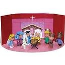 Peanuts Charlie Brown Christmas Nativity Pageant Mini-Figures Set of 9