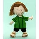 "Alexander Dolls 14"" Peppermint Patty Cloth Doll - The Peanuts Gang Collection - Play Alexander Collection"