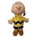 """Hard to Find Peanuts Classic Style 13"""" Plush Charlie Brown Doll"""