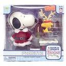 Peanuts: A Charlie Brown Christmas Series Deluxe Snoopy Figure (Santa Snoopy)