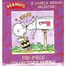 Peanuts By Schulz: A Charlie Brown Valentine 500 Piece Collectors Puzzle in Tin