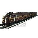 Williams by Bachmann Trains - Pennsylvania - Tuscan 5 Stripe Train Set