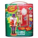 Works of Ahhh... Holiday Series Nutcracker Soldier Wood Painting Kit