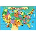 MasterPieces Puzzle Place First Map of the USA 100 Giant Pieces
