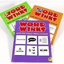 Word Winks Puzzle  _ Three Volume Set