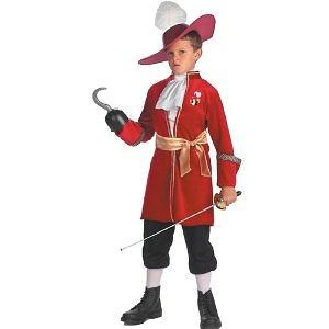 Peter Pan Disney Captain Hook Child Costume - 7 to 8 - Kids Costumes Peter Pan Disney Captain Hook Child Costume - Kids Cost