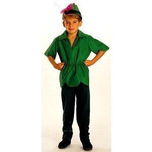 Peter Pan - Medium Peter Pan Costume - Child Costume