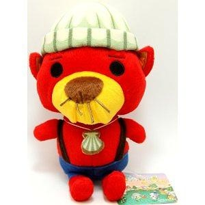 Animal Crossing Stuffed Plush Doll Rakusuke