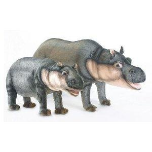 Hansa Hippopotamus Stuffed Plush Animal, Standing - Medium