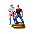 DC Direct Superman Family Multi-Part Statue: Part 1: Superboy and Power Girl