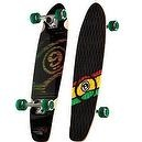 "Sector 9 Subtraction Complete Mini Longboard - Rasta - Traction Top - 31.75in x 8.25in  Sector 9 Subtraction Mini 31.75"" Foam G"