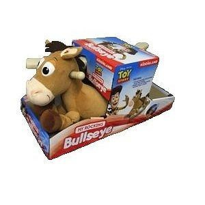 Disney My Rocking Toy Story BULLSEYE Rocking Horse, With Realistic Pony, Trotting Sounds & Music, Ages 12-24 Months